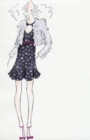 Sneak Peek at 2011 Fall Collection Designer Illustration