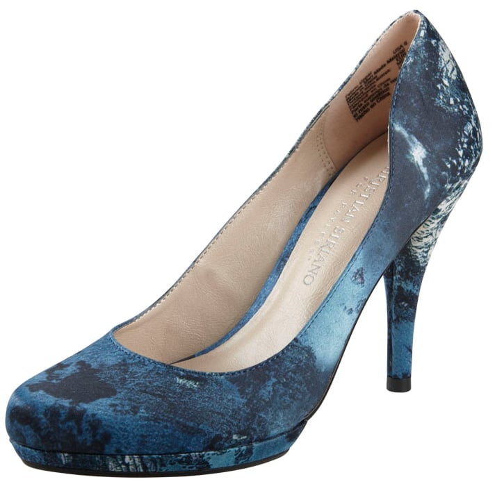 Coast Printed Satin Pump
