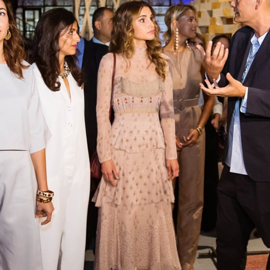 Queen Rania's Valentino Dress at Amman Design Week 2016