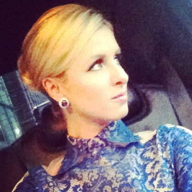 Nicky Hilton shared a stunning selfie while on her way to the ballet. Source: Instagram user nickyhilton