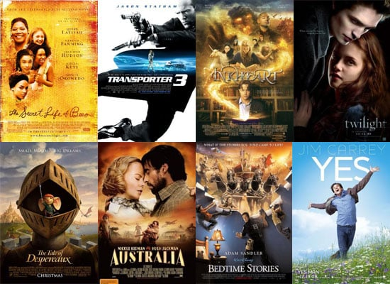 Films Released in the UK December 2008