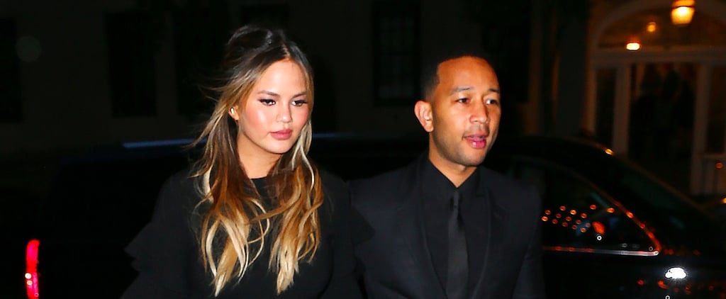 Chrissy Teigen's Date Night Look Was So Sexy, She Probably Set Off the Smoke Detector