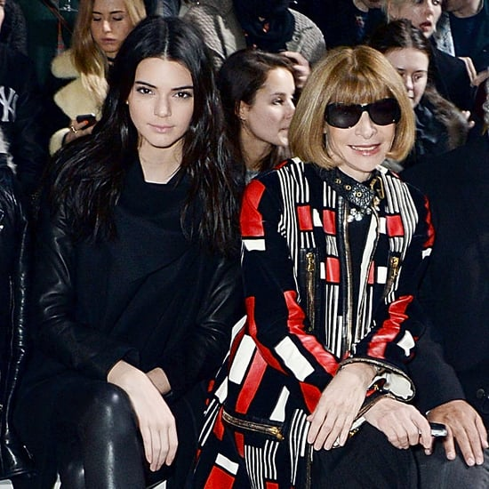 Kendall Jenner Sits Next to Anna Wintour at Fashion Show