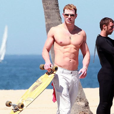 Kellan Lutz Shirtless Pictures in LA