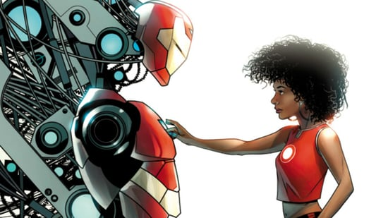 Find Out the New Name of Marvel's Black Female Iron Man