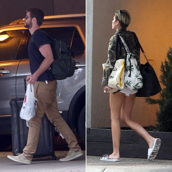 Exclusive: Miley Cyrus Wears Her Ring to Reunite With Liam Up North