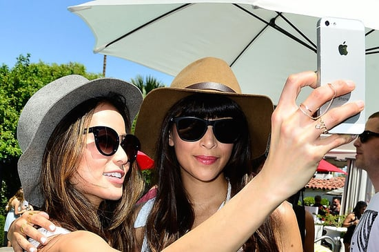 10 Celebrities Taking Pictures Of Themselves At Coachella