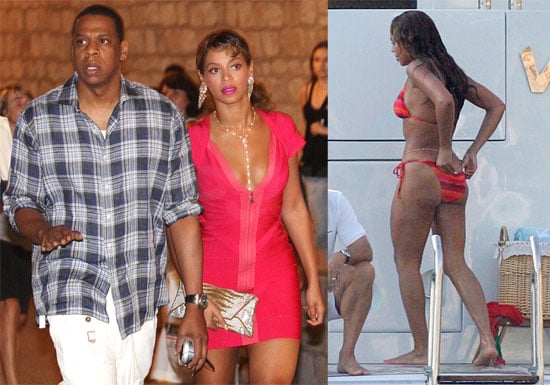 Bikini Photos of Beyonce Knowles with Jay-Z in Croatia