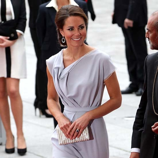 Kate Middleton and Prince William at the Olympics (Video)