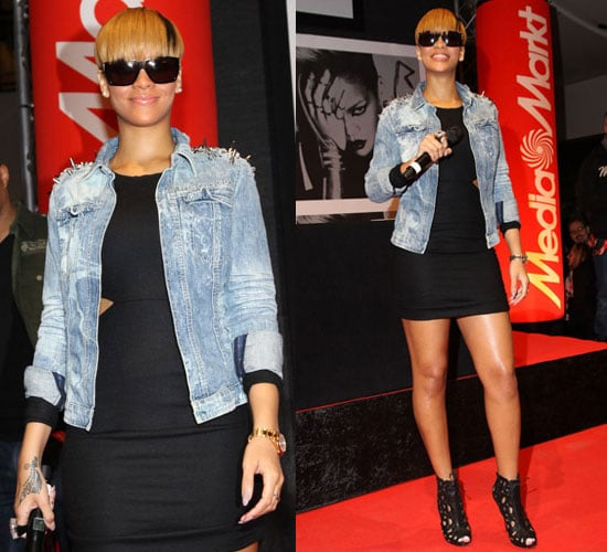 Photos of Rihanna at Autograph Signing in Germany