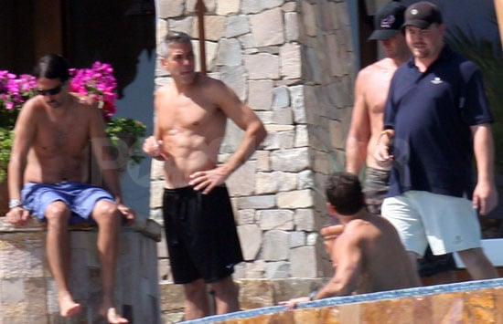 Photos Of George Clooney Shirtless In Mexico
