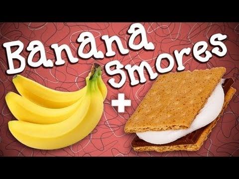 Banana Boat S'mores