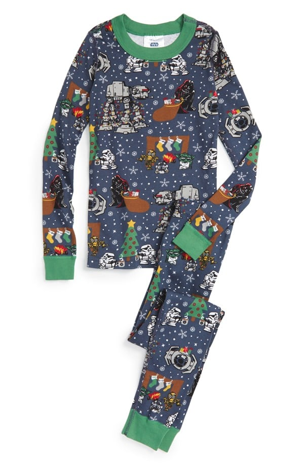 Hanna Andersson 'Star Wars Holiday' Two-Piece Fitted Pajamas
