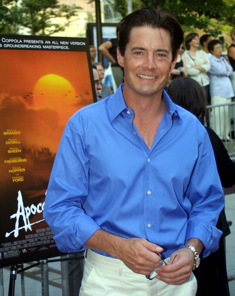 Remember hunky Kyle MacLachlan from Sex and the City?