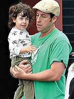 Lil Links: Adam Sandler Riles His Lil Sadie Up With His Bedtime Stories