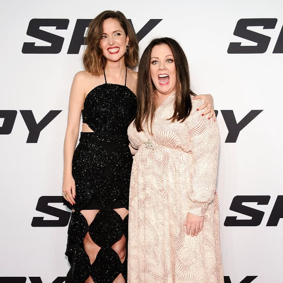 Melissa McCarthy and Rose Byrne at Spy New York Premiere