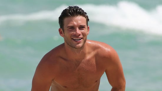 Scott Eastwood Goes Shirtless in Miami, Sources Deny Adriana Lima Dating Rumors