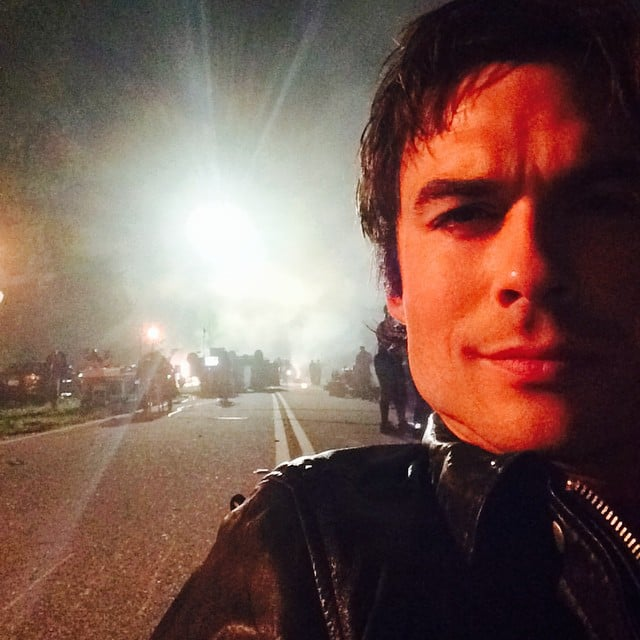 The Middle of the Night Shoot Selfie