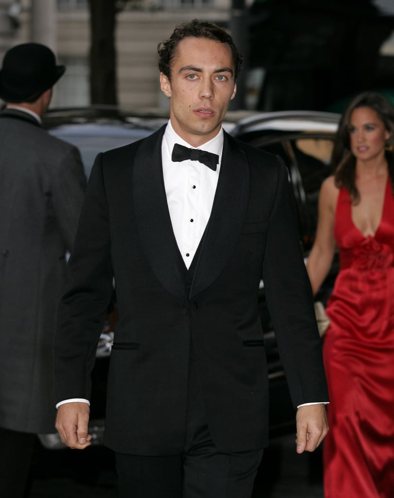 James Middleton at the Boxing Ball.