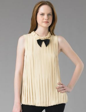 Fab Finger Discount! Marc by Marc Jacobs Georgette Silk Twill Top
