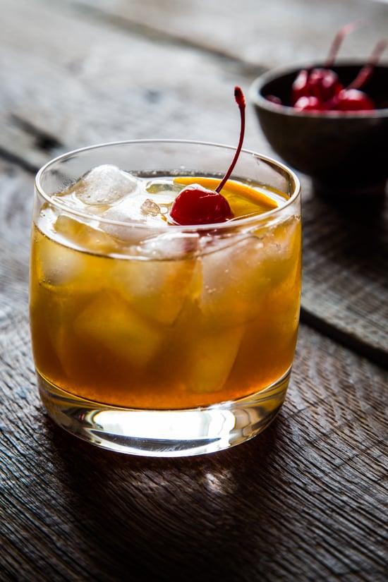 Bourbon Maple Cocktail