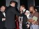 In November 2014, Wills gave Ed Sheeran a warm greeting at the Royal Variety performance.