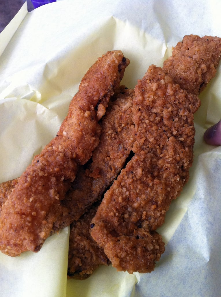 Would you try chicken fried bacon?