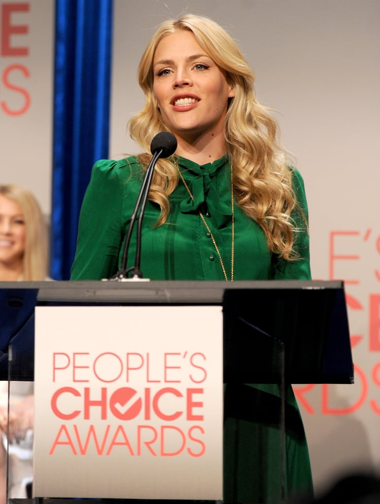 Busy Philipps announces the 2011 People's Choice Awards nominees.