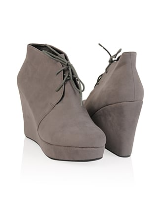 Forever 21 Wedge Booties ($26)