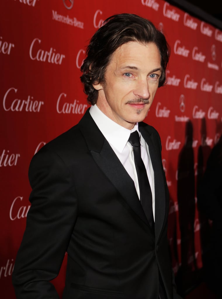 John Hawkes stopped for a photo.