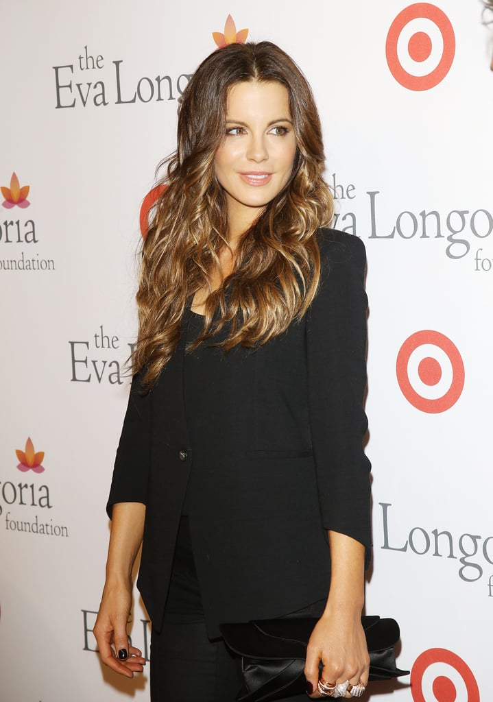Kate looked simple yet gorgeous at the Eva Longoria Foundation Dinner in LA in 2013.