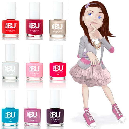 Little Bu Nail Polish for Young Girls Launches