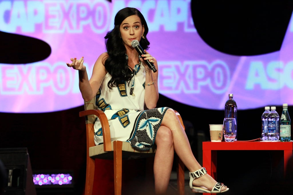 """Katy Perry attended the 2013 ASCAP """"I Create Music"""" Expo inside the Loews Hollywood Hotel in LA."""
