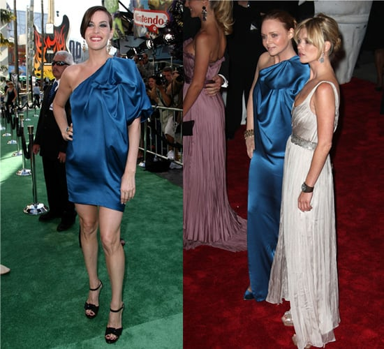 Who Wore It Better? Stella McCartney One-Shoulder Silk Dress