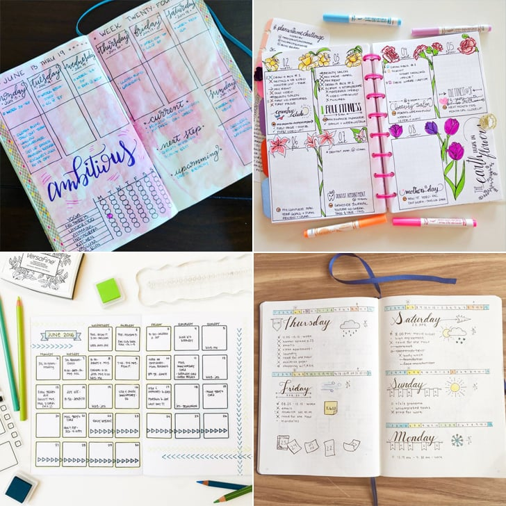 Bullet journal designs popsugar australia smart living