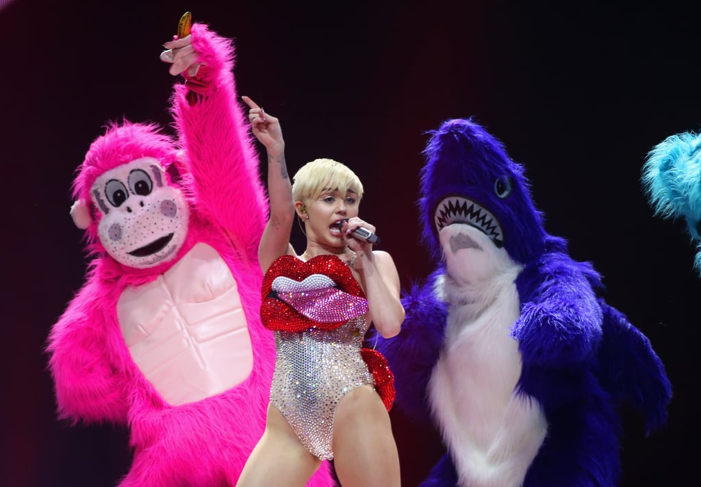 Read Her Lips: Miley Cyrus Returns to Her Raunchy Ways