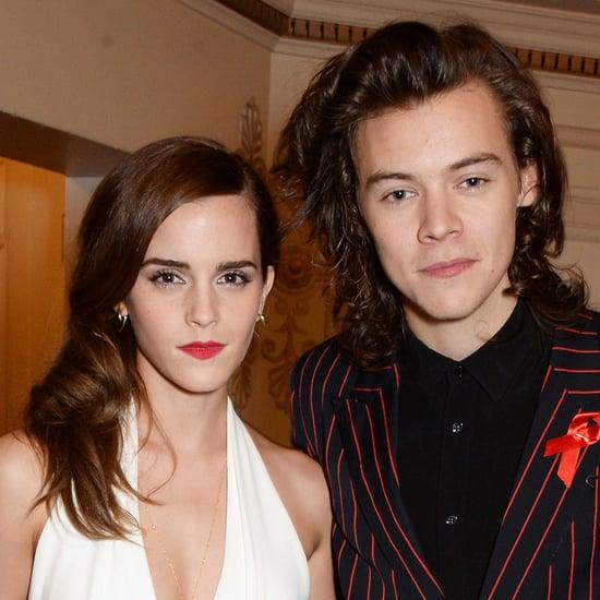 Harry Styles and Emma Watson at British Fashion Awards