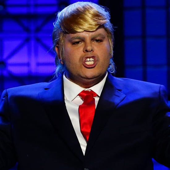 Josh Gad as Donald Trump on Lip Sync Battle