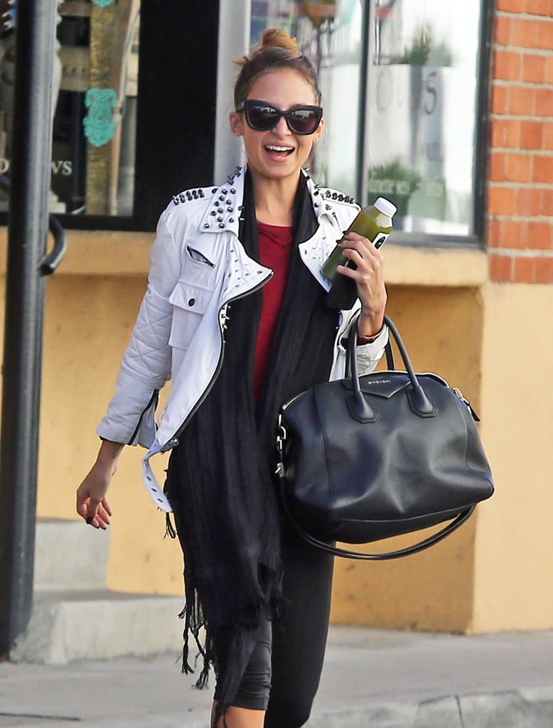 Nicole Richie carried a Givenchy tote.
