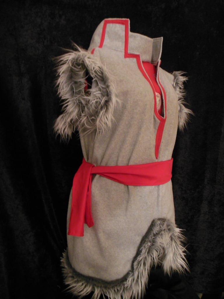 Another option for the young Kristoff fan is this handmade fleece and faux fur costume ($65), which is made to order.