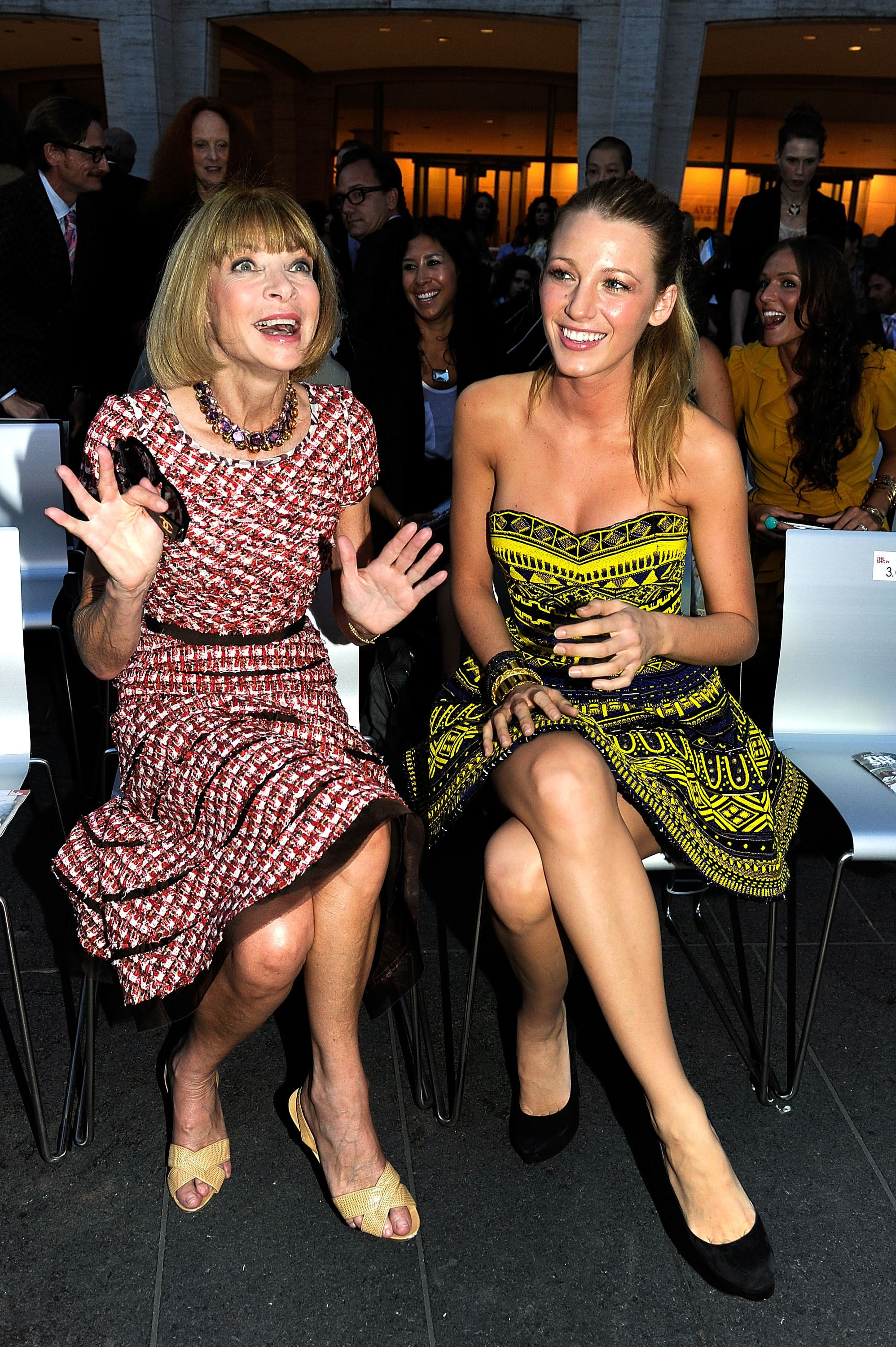 When She Mingled With the Fashion Elite (Part 1)