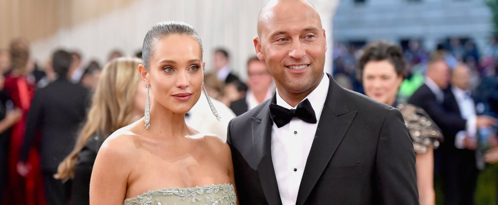 """Hannah Davis Changed Into a Partially Sheer Gown After Saying """"I Do"""" to Derek Jeter"""
