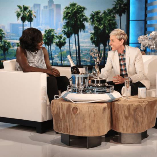 Viola Davis Talks About Emmys Speech on Ellen September 2015