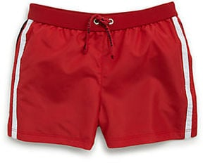 Get two designer swimsuits for the price of one with Dolce & Gabbana's reversible infant swim trunks ($68, originally $130).