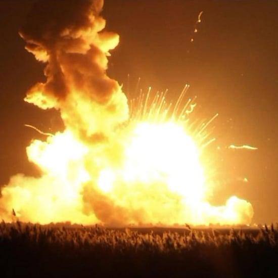 NASA Rocket Explosion 2014