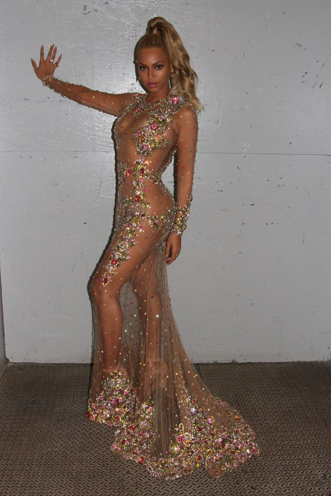 Beyonce 39 S Dress At Met Gala 2015 Popsugar Fashion