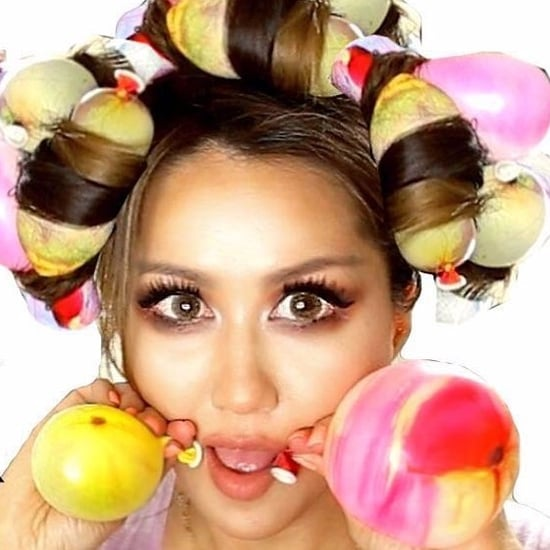 How to Curl Hair With Balloons