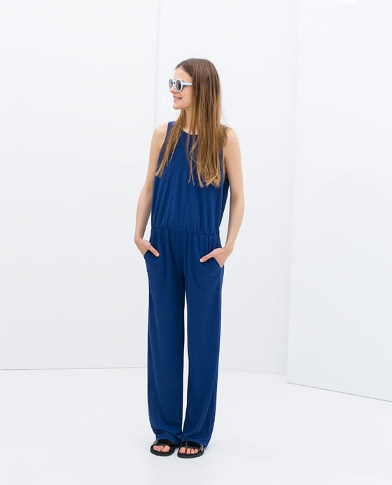 Zara Open Back Jumpsuit