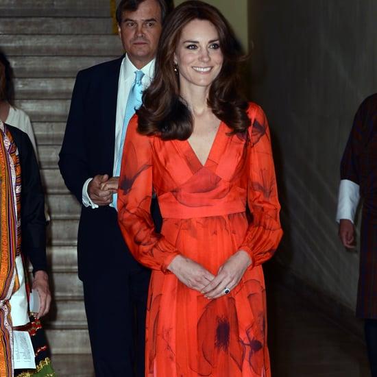 Kate Middleton Beulah London Dress in Bhutan 2016