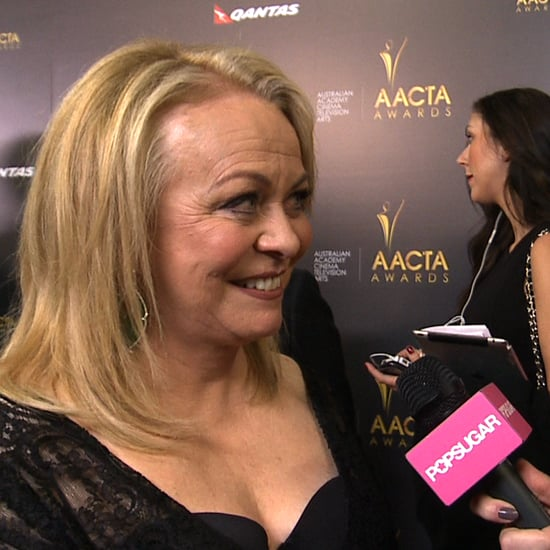 Jacki Weaver Interview at the 2013 AACTA Awards (Video)